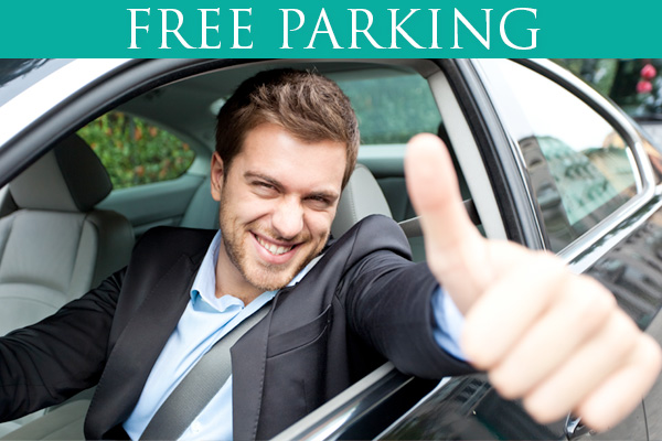 Free Parking for up to 2 Hours
