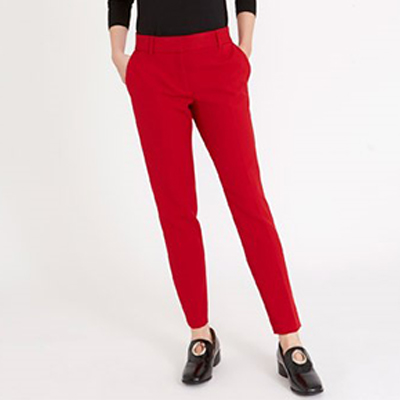 Wimens Red Trousers